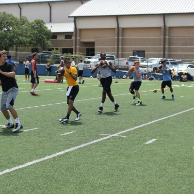 Abilene football camp